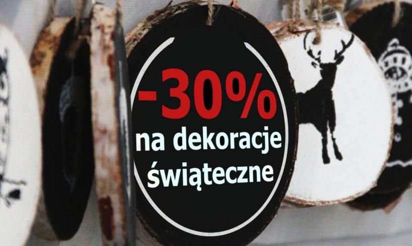POŚWIĄTECZNA WYPRZEDAŻ -30%