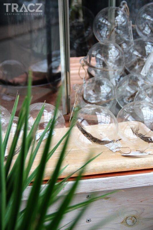 bombki szklane z piórkiem, nowość