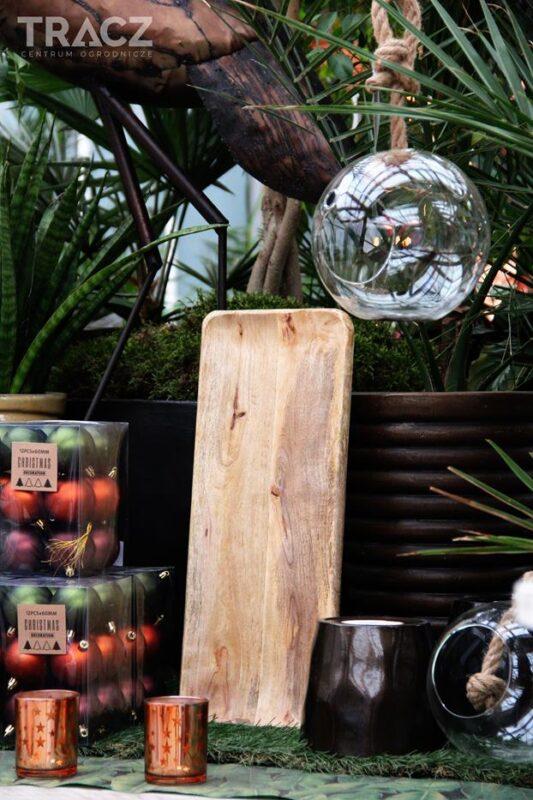 dekoracje bożonarodzeniowe, dżungla
