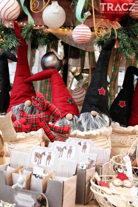 krasnal świąteczny, dekoracje świąteczne