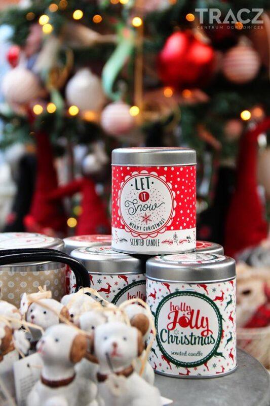 świece zapachowe bożonarodzeniowe