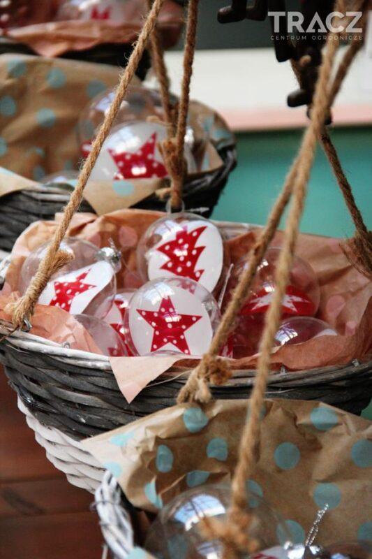 bombki świąteczne, gwiazdki, choinki