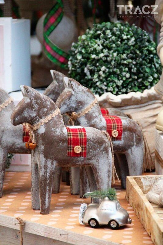 dekoracje świąteczne, koń świąteczny