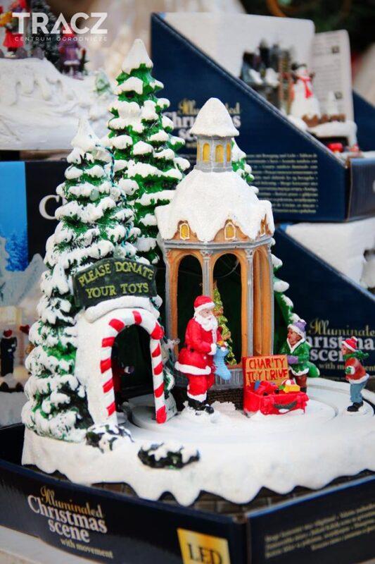 iluminacja świąteczna, ruchoma ozdoba bożonarodzeniowa