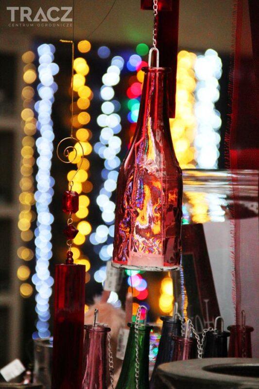 dekoracje wiszące, butelki