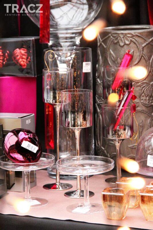 szklane świeczniki