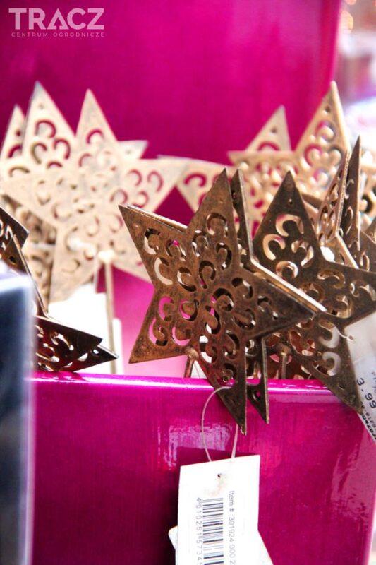 dekoracje bożonarodzeniowe gwiazdy
