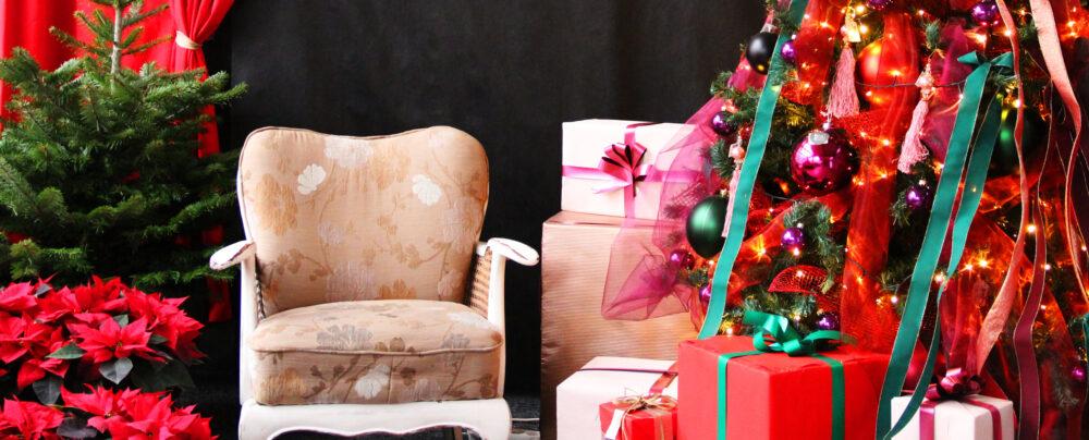 red velvet świąteczny styl ozdoby bożonarodzeniowe