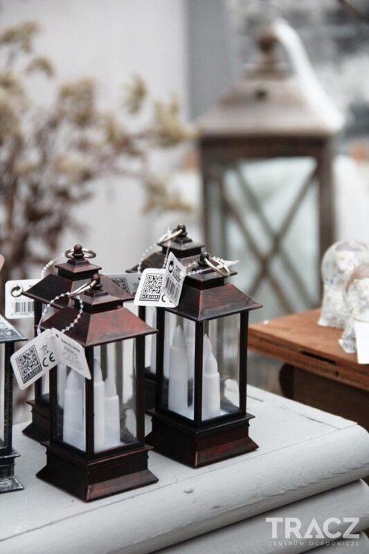 dekoracje świąteczne, latarnia led, lampion led