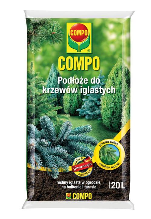COMPO Podłoże do krzewów iglastych 20L