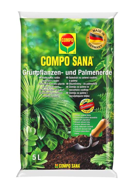 COMPO Podłoże do roślin zielonych i palm 5L