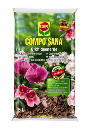 COMPO SANA Podłoże do orchidei 5L