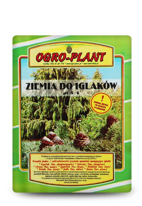 OGRO-PLANT Ziemia do iglaków 60L