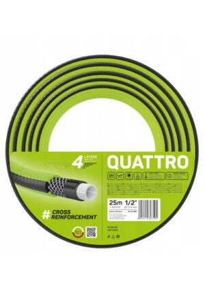 """Wąż ogrodowy QUATTRO 3/4"""" 25m"""