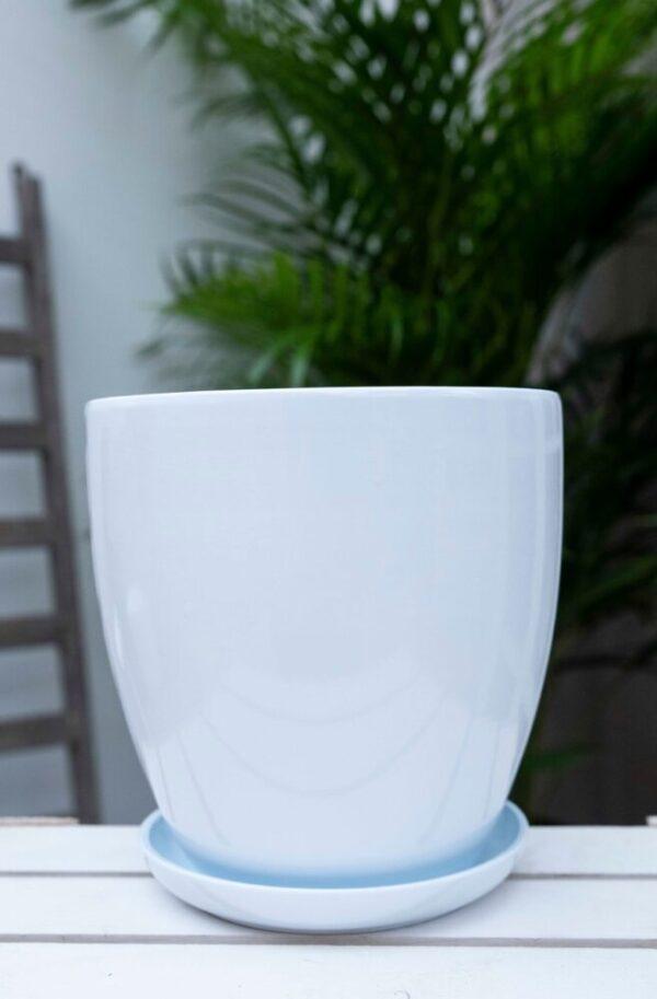 020-08418 Doniczka ceramiczna klasyczna