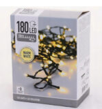 060-02344 LAMPKI CHOINKOWE 180 LED BIAŁY CIEPŁY 23M ZEWNĘTRZE