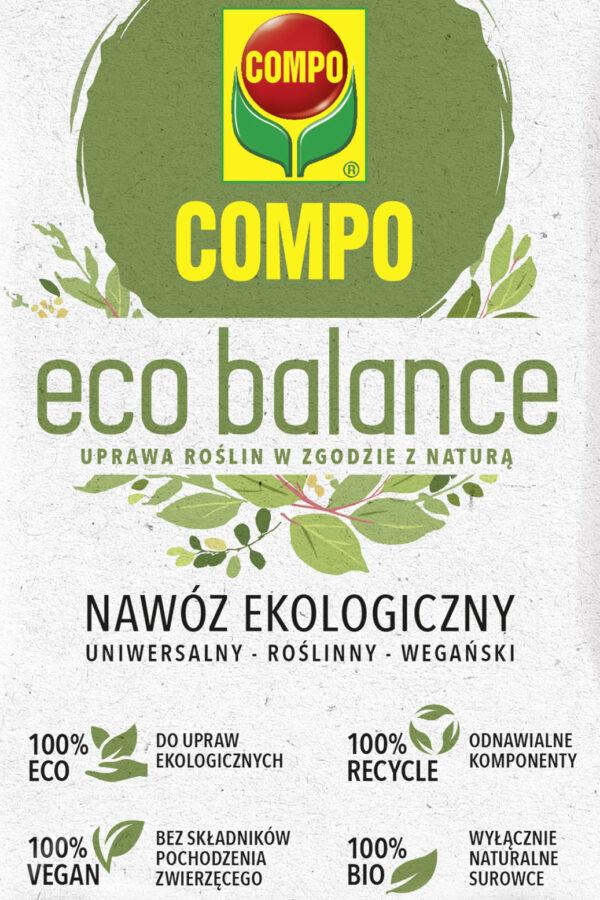 030-22803 COMPO ECO BALANCE nawóz do upraw ekologicznych W ZGODZIE Z NATURĄ