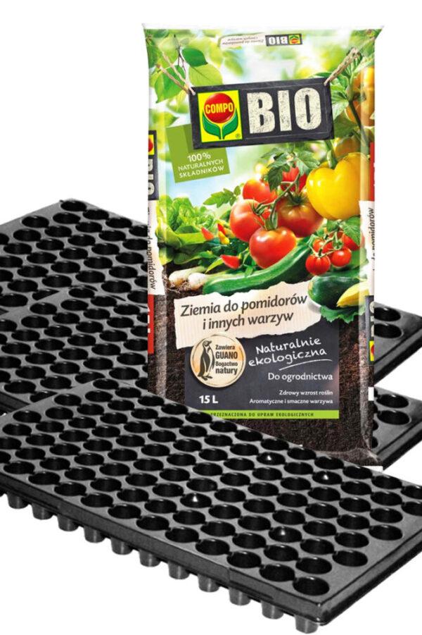 Zestaw do pikowania warzyw – 312 sadzonek!!! + GRATIS