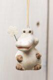 Zwierzątko ceramiczne krokodyl zawieszka