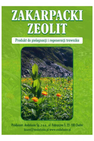 zakarpacki zeolit do pielęgnacji trawnika